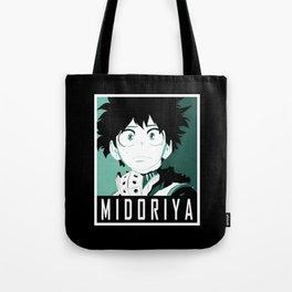 Midoriya Hope Poster V2 Tote Bag