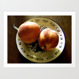 You Are Such A Peach Art Print