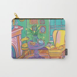 Yellow Wingback Carry-All Pouch