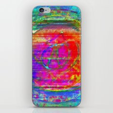 obtainable only through a balance of push and hold iPhone & iPod Skin
