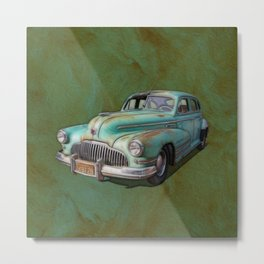Chrysler Oldtimer Metal Print