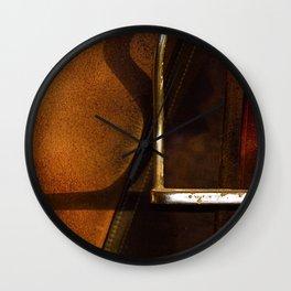 Stirrup // Horse Tack Wall Clock