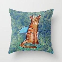 I is a Shark Throw Pillow