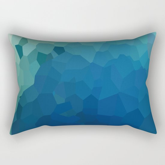 Sea Moon Love Rectangular Pillow