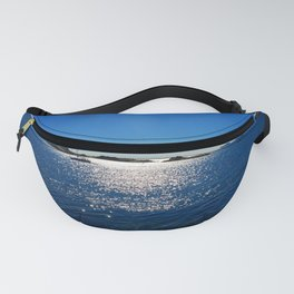 sailboat on calm sea Fanny Pack