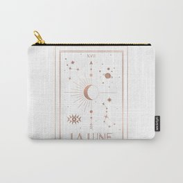 La Lune or The Moon White Edition Carry-All Pouch