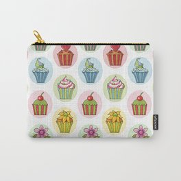 Quirky Cupcakes Carry-All Pouch