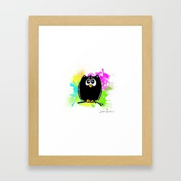 The owl without name Framed Art Print
