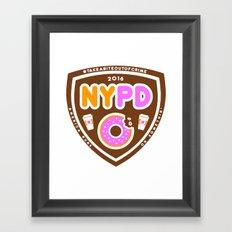 NYPDD Framed Art Print