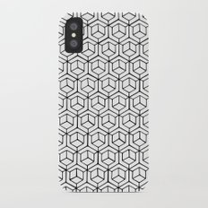 Hand Drawn Hypercube iPhone X Slim Case