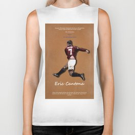 Eric Cantona 50 Biker Tank
