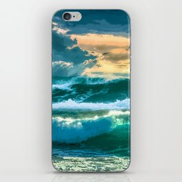 Ocean Deep iPhone Skin