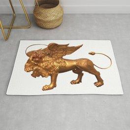 myth lion Rug