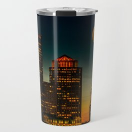 Boston Pink  Moon Travel Mug