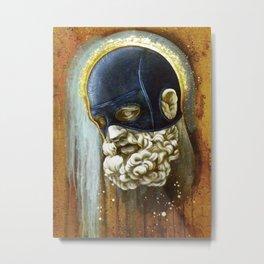 """Masked Hercules"" Metal Print"