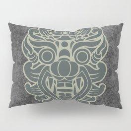 Barong, Balinese mask / The Beach movie Richard's t-shirt Pillow Sham