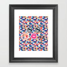 I AM POP Framed Art Print