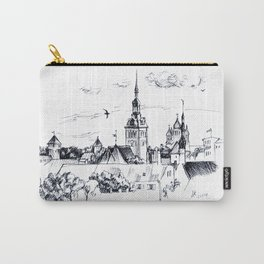 Medieval landscape. Carry-All Pouch