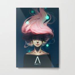AMP_I Metal Print