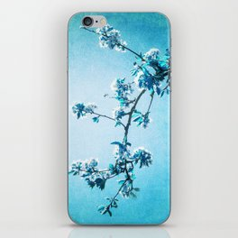 BLUE SPRING iPhone Skin