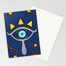 The Sheikah Slate Stationery Cards