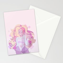 steven universe: rainbow quartz Stationery Cards