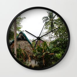 Dreamy Mexican Casa Wall Clock