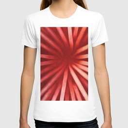 Intersecting-Red T-shirt
