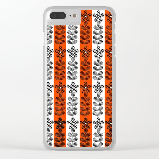 Pattern H8 Clear iPhone Case