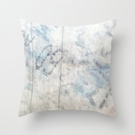 Murgo Parcel: Expired Milk Throw Pillow