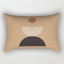 Nascita del sole - The birth of the sun - Modern abstract art Rectangular Pillow