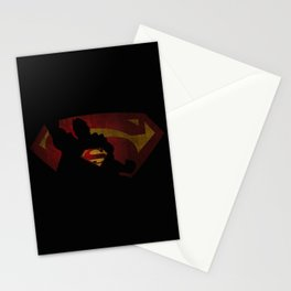 The man of sky Stationery Cards