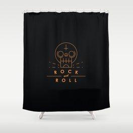 Rock & Roll Shower Curtain