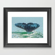 A TAIL OF A TIME Framed Art Print