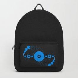 dna aliens, sacred geometry Backpack