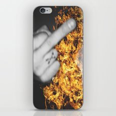 FUCK iPhone & iPod Skin