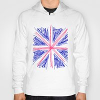 uk Hoodies featuring UK by R.Bongiovani