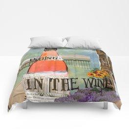 Bring in the Wine Comforters