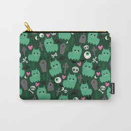 Creepy Zombie Llama Carry-All Pouch