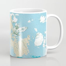 Gold Abstract Modern Painting Coffee Mug