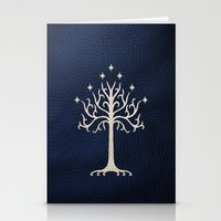 gondor Stationery Cards featuring For Gondor by enthousiasme