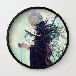 In Her Head, In Her Eyes Wall Clock