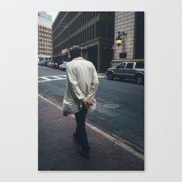 Stranger Study (Boston) Canvas Print
