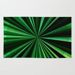 North Texas Green Sun Rug