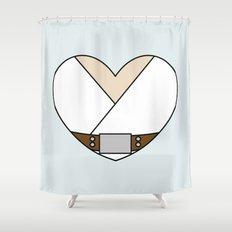 Luke Skywalker Character Heart Shower Curtain