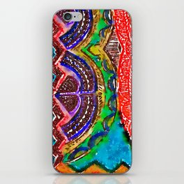 Pattern Frenzy iPhone Skin