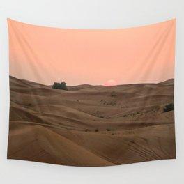 Arabian Desert Sunset Wall Tapestry