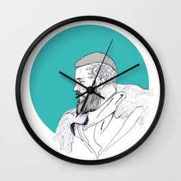 Ragnar Lothbrok / Vikings Wall Clock