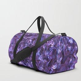 Abalone Shell | Paua Shell | Violet Tint Duffle Bag