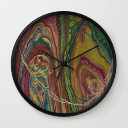 Sublime Compatibility (Intimate Reciprocity) Wall Clock